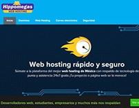 Hippomegas web hosting