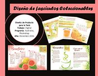 Fascículos coleccionables sobre plantas medicinales