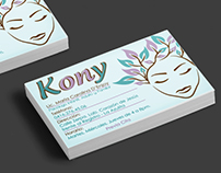 Logo / Business Card / Kony