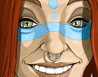 Ninfa guerrera