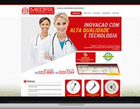 website   Empresa ramo de produtos Ortopédicos