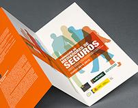 Tríptico para curso de formación de mediadores de segur