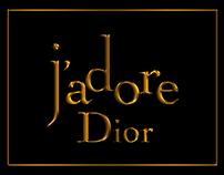 J'adore Dior 3D model