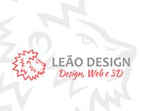Logotipo Leão Design
