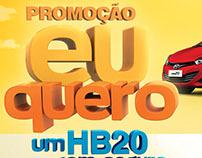 """Campanha Seguralta """"Eu Quero Um HB20"""""""