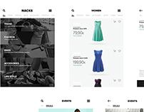 Test diseño app iOS