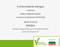 Ingles Universidad de Antioquia