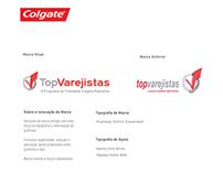 Marca de campanha de trade Colgate