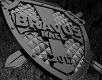 Medalha Bravus Race 2017
