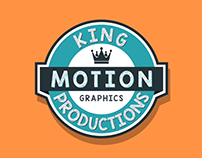 King Production Logo Reveal (Flat 2D)