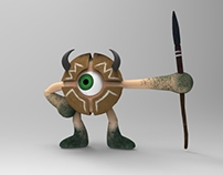 Irilolot Soldier - 3d Character Design and Animation