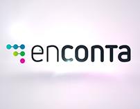 Animación de logotipo para la marca Enconta