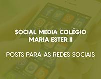 Social Media - Colégio Maria Ester II