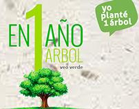 GREENPEACE Plant a tree action