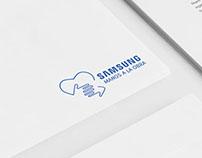 Identidad Manos a la obra - Samsung