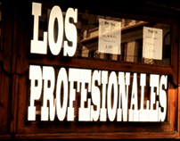 LOS PROFESIONALES, cortometraje de ficción