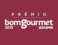 Aplicativo do Prêmio Bom Gourmet 2015 - Gazeta do Povo