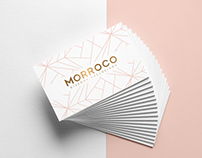 Creación de logotipo y piezas graficas impresa _MORROCO