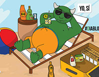 Cartoons #DiabloAcaparador