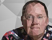 Poligonal Arte - John Lasseter