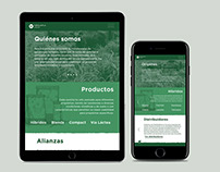 GRUPO PAPALOTLA WEBSITE. UI/UX, website layout