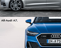 Ad idea - Audi A7