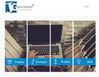 Jarvi Games Web Page