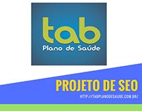 Projeto de seo http://tabplanodesaude.com.br/