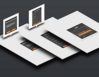 Alteração no layout  do sistema da Agence Algere