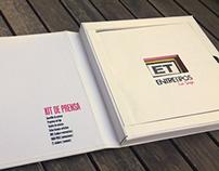 Diseño de Kit de Prensa para Espectáculo Teatral