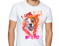 My Pet T-Shirt Design