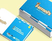 Cartão de Visita - Perroni's Moda Infantil