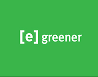 [e] greener - Corporate identity design