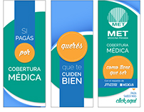 MET Medicina Privada - Soportes varios
