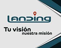 Material gráfico Landing SAC
