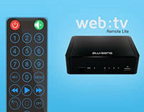App Web:tv remote late