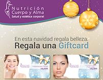 """Diseño Mailing """"Giftcard"""" para NCA"""