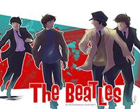 The Beatles . The Beatlemania