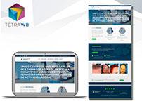 Pagina web para empresa de implante capilar