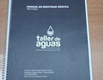 Taller de aguas / manual identidad grafica