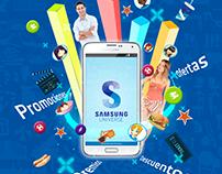 App Samsung Universe y Campaña Publicitaria.