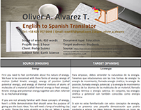 Sample Translation 4 (Energy)