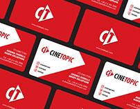 Brand Identity - Cinetopic (Venezuela)
