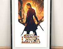 Poster - A garota da Lenda