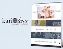 Karilena Shop - Página Web