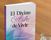 Book cover mockup for El Divino Arte de Vivir, Ebila