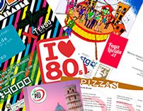 Papelería, afiches, volantes, entre otros