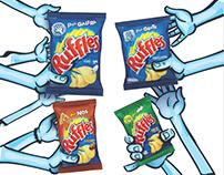RUFFLES – NOVAS EMBALAGENS