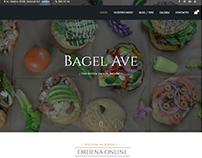 Restaurante http://bagelave.com con pedidos y reservas