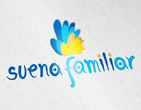 Suena Familiar, diseño de logotipo